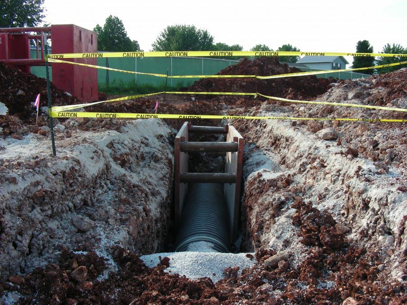Storm Sewer by Gillespie Excavating