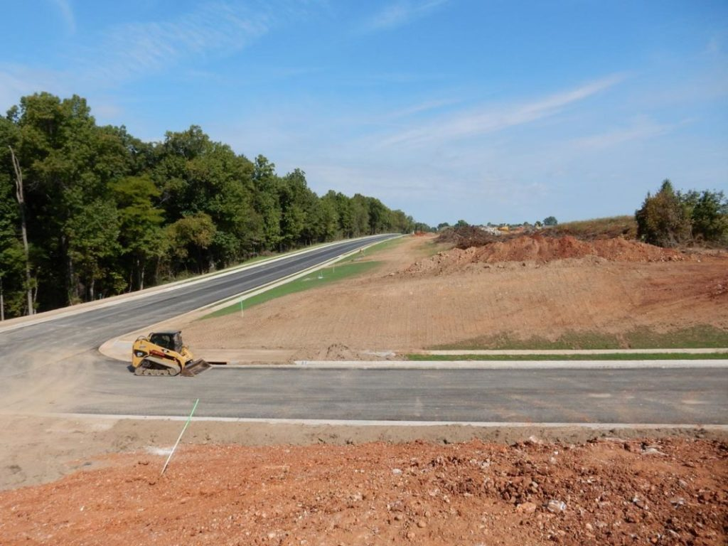 Infrastructure at Cloverhill in Battlefield